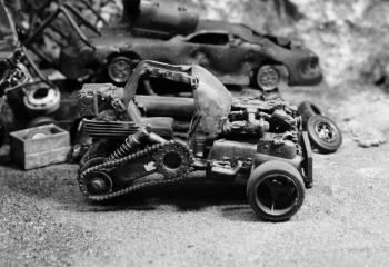 To the junkyard